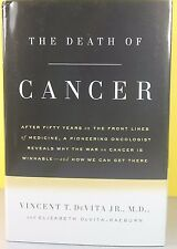 THE DEATH OF CANCER   -Vincent T. DeVita-   HARDCOVER  ~ NEW