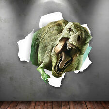 3D Dinosaur kids room decor Wall sticker Jurassic Park wall decals wallpaper PVC
