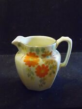 Vintage Hand Painted Floral Price Bros. Londsdale England Pottery Pitcher