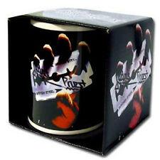 Judas Priest - British Steel Ceramic Coffee / Tea Mug New & Official In Box