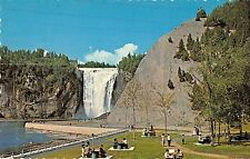 BR70877 a picnic at the foot of montmorency falls quebec   canada