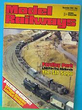 MODEL RAILWAYS NOVEMBER 1980   FORDLEY PARK ~ LNER MIDLANDS in 4mm SCALE LAYOUT