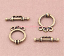 PJ060 15sets Antique Bronze Toggle Clasps For Necklace Bracelet Clasp accessorie