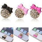 3D Crystal Bling Diamond Home Button Sticker For iPhone 4,4s,5,5c,5s,iPad 2,3,4