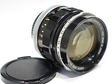 Canon FL 58mm 1:1.2 prime lens for FD mount F1N A1 etc Auto/Manual aperture