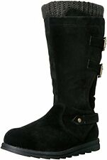 NEW Muk Luks Womens Nora Tall Boots - Black - Size: 10
