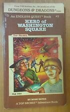 1983 ~ HERO OF WASHINGTON SQUARE ~ DUNGEONS & DRAGONS ~ ENDLESS QUEST ~ BOOK #7