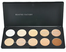 10 Color Camouflage & Concealer Foundation Makeup Palette (Cream Texture) 610