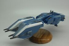 Girty Lue Class Gundam SEED Battleship Mahogany Kiln Dry Wood Model Large