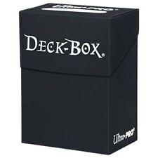 Porta Mazzo Ultra PRO Magic BLACK Standard Deck Box Nero Solido 81453 MTG