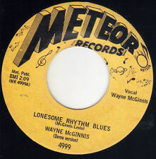 TN rockabilly Wayne McGinnis METEOR DEMO versions ( HEAR ) Rock roll and rhythm