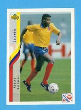 UPPER DECK-WORLD CUP USA 94 -Figurina n.41- VALENCIA - COLOMBIA -NEW