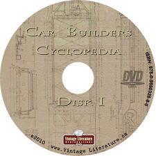 1946 Car Builders Cyclopedia { Railroad Railcar Design and History } on DVD