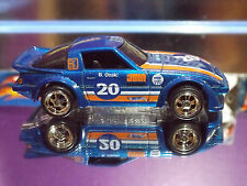 Hot Wheels Premiere B.OZAKI Blue MAZDA RX-7 Special Custom with Real Riders