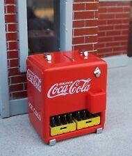 Premium Danbury Mint Coca Cola Cooler Chest Diecast 1/24 Scale G Diorama Item