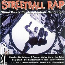 Streetball Rap (1993) Naughty by Nature, Ice Cube, LL Cool J, Run DMC, Ja.. [CD]