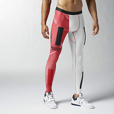 BNWT Men's Reebok PWR5 Compression Pants Tights Crossfit CF S Small