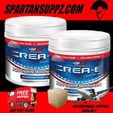 EHP LABS CREA8 CREATINE MONOHYDRATE 200 SERVES TWIN PACK STRENGTH POWER MUSCLE