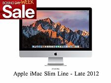 "Apple iMac 27"" Quad Core i5 2.9GHz 8GB 1TB HDD Late 2012 Slim Line MD095 A Grade"