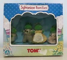 SYLVANIAN FAMILIES Calico Critters FROG FAMILY Bullrus Famiglia Rana TOMY NEW