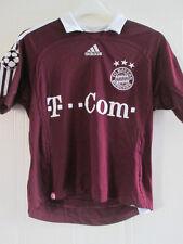 """bayern Munich 2006-2007 CL Football Shirt Size 34-36"""" /35742"""