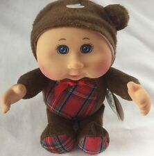 Cabbage Patch Kids Holiday Cuties Doll - Christmas Bear NWT 9 inches Bow Tie