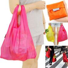 Folding-Einkaufstaschen Reise-Einkaufstüte Tasche Reißverschluss Handtasche Bag