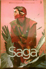 SAGA VOL. 2 TPB COLLECTION (#7-12) Brian K. Vaughan And Fiona Staples 2013