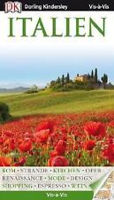 P4 Italien Reiseführer 2013-2014 UNGELESEN + Karte Vis a  Dorling Kindersley Rom