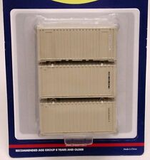 Athearn 20' containers - U.S. military - HALF CASE lot