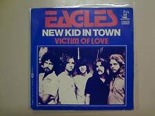 "EAGLES:New Kid In Town 4:49-Victim Of Love-Belgium 7"" 76 Asylum Records13069 PSL"
