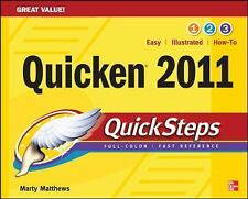 Quicken 2011 QuickSteps, Sandberg, Bobbi, Matthews, Martin, Good Condition, Book