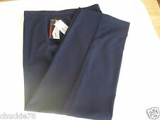 """NEW"" Briggs New York Dress Pants NAVY BLUE Size 14  Inseam 31"""