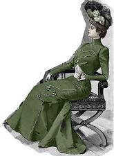 Edwardian Pattern for 1910 Walking Suit - Unique design - Sized for you