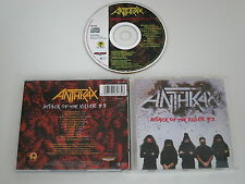 ANTHRAX/ATTACK OF THE KILLERS B'S(MEGAFORCE 261 732) CD ALBUM