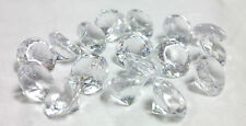 Vase Fillers: Large Acrylic Crystal Diamond Gems, Table Scatter Confetti, 1 lb