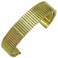 BRACELET  MONTRE   EXTENSIBLE 16 MM DOREE  (A-4)