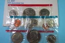 U.S. 1977 P/D   EISENHOWER DOLLAR 6-COIN  MINT SETS, Philadelphia & Denver Coins