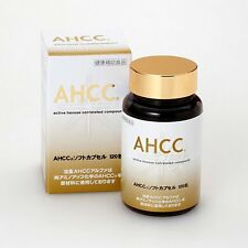 AHCC Active Hexose Correlated Compound alpha soft capsules 120 tab From Japan