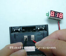 GVM-30 Mini Voltage Meter with Digital Display(Operated Voltage range:DC 2.4~30V