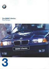BMW 3 Series Range UK Market Brochure 1997 inc Coupe Touring Compact Convertible