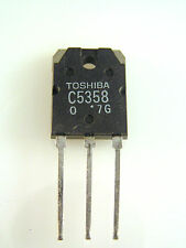 Toshiba Transistor 2SC5358 TO3PN NPN Triple Diffused Type Power Amp Use OM148C