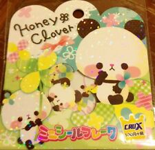 Kawaii CruX Honey Clover Sticker Flakes Sack 42 Stickers