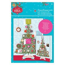 Do-crafts A5 Incorniciato Kit Carta Decoupage Lino Folk Natale per carte/