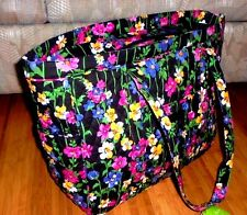 """NEW PATTERN"" Vera Bradley Get Carried Away Tote in Wildflower Garden NWT"
