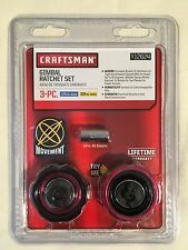 "Craftsman 3pc Gimbal Palm Ratchet Set 1/4"" & 3/8"", Model #: 912624, Brand New"