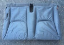 1998-2000 MERCEDES-BENZ ML320 ~ REAR DOUBLE SEAT LEATHER BOTTOM ~ GRAY ~ OEM