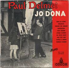 """JO DONA """"CHANTE PAUL DELMET"""" 50'S 25 CM  ODEON 10190"""