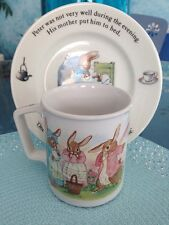 Wedgwood PETER RABBIT Mug Teacup And Saucer Plate