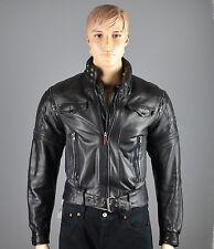 Lederjacke Hein Gericke Biker Motorrad Rocker Vintage Jacke G:48-50     (LJ314)